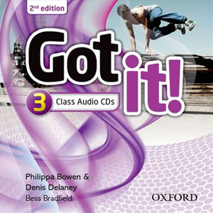 Got It! 3 Class Audio CDs /2/ (2nd)