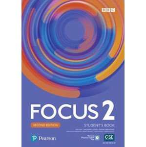 Focus 2 Student´s Book with Basic Pearson Practice English App (2nd)
