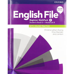 English File Beginner Multipack B with Student Resource Centre Pack (4th)