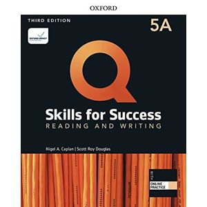 Q Skills for Success 5 Reading & Writing Student´s Book A with iQ Online Practice, 3rd