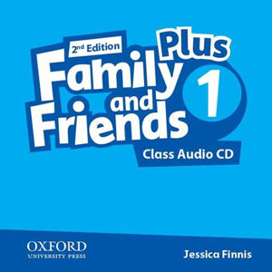 Family and Friends Plus 1 Class Audio CD (2nd)