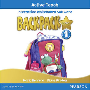 BackPack Gold New Edition 1 Active Teach - 2nd Revised edition - Diane Pinkley