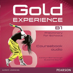 Gold Experience B1 Class Audio CDs - Carolyn Baraclough, Suzanne Gaynor