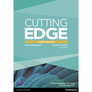 Cutting Edge 3rd Edition Pre-Intermediate Students´ Book w/ DVD Pack - Araminta Crace, Araminta Crace