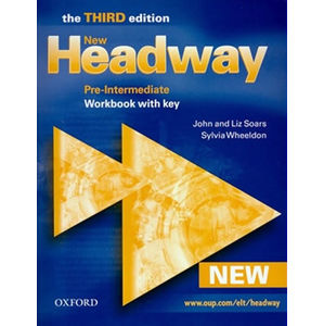 New Headway Pre-intermediate Workbook with Key (3rd) - John Soars