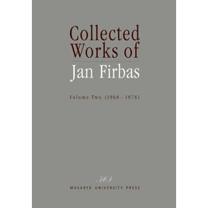 Collected Works of Jan Firbas: Volume Two (1968–1978)