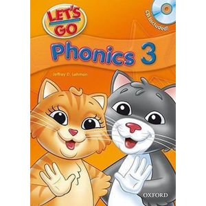 Let´s Go 3 Phonics Book + Audio CD Pack (3rd)