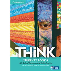 Think Level 4 Student´s Book with Online Workbook and Online Practice - Herbert Puchta, Herbert Puchta