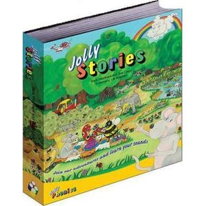 Jolly Stories : In Precursive Letters (British English edition)