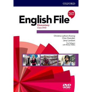 English File Elementary Class DVD (4th)