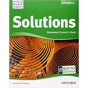 Solutions Elementary Student´s Book 2nd (International Edition)
