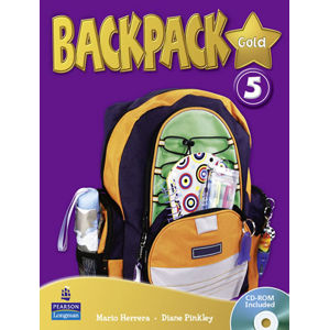 BackPack Gold New Edition 5 Students´ Book w/ CD-ROM Pack - 2nd Revised edition - Diane Pinkley