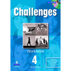 Challenges 4 Workbook w/ CD-ROM Pack - Workbook Pack - Amanda Maris