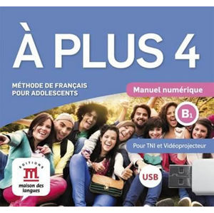 A plus! 4 (B1) – Clé USB Multimédiaction - neuveden
