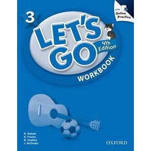 Let´s Go 3 Workbook with Online Practice Pack (4th)