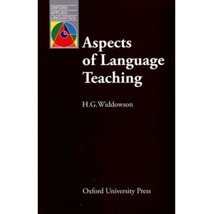 Oxford Applied Linguistics Aspects of Language Teaching