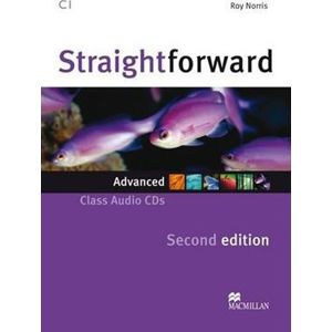 Straightforward 2nd Edition Advanced: Class Audio CDs (2) - Roy Norris