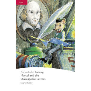 PER | Level 1: Marcel and the Shakespeare Letters Bk/CD Pack - Stephen Rabley