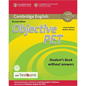 Objective PET Student´s Book without Answers with CD-ROM with Testbank