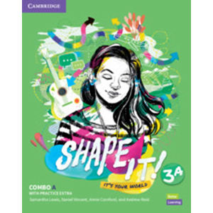 Shape It! 3 Combo A Student´s Book and Workbook with Practice Extra