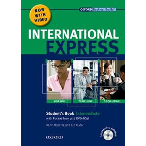 International Express Interactive Ed Intermediate Student´s Book + Pocket Book + Multi-ROM + DVD