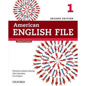 American English File 1 Student´s Book with iTutor and Online Practice (2nd)