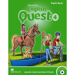 Macmillan English Quest 4: Pupil´s Book Pack