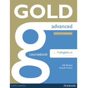 Gold Advanced 2015 CourseBook w/ MyEnglishLab Pack - Amanda Thomas