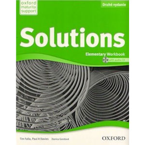 Solutions Second Edition Elementary: Workbook + Audio CD (Slovenská verze) - Paul A. Davies, Tim Falla