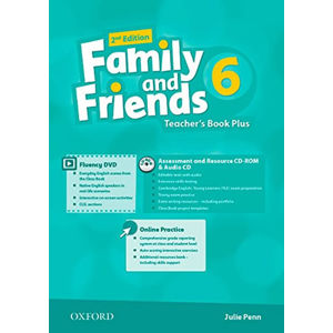 Family and Friends 6 Teacher´s Book Plus with Multi-ROM (2nd)