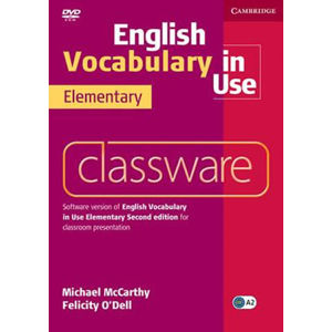 English Vocabulary in Use 2nd Edition Elementary: Classware DVD-ROM - Michael McCarthy
