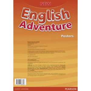 New English Adventure 2 Posters - Anne Worrall