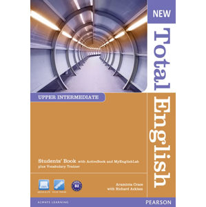 New Total English Upper Intermediate Students´ Book w/ Active Book and MyEnglishLab Pack - Students Book + Active Book + LAB Pack - Araminta Crace, Araminta Crace