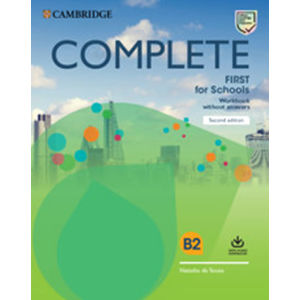 Complete First for Schools Workbook without answers with Audio Download,2nd