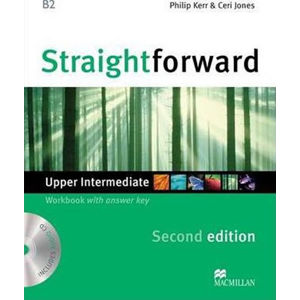 Straightforward 2nd Edition Upper-Intermediate: Workbook with Key Pack - Philip Kerr