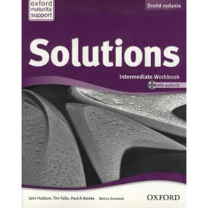 Solutions Intermediate Workbook + CD 2nd (SK Edition)