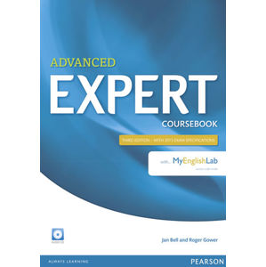 Expert Advanced 3rd Edition Coursebook w/ Audio CD/MyEnglishLab Pack - Jan Bell