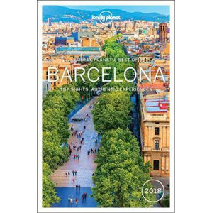 Barcelona Best Of 2018 - Lonely Planet - Lucie Hlavatá