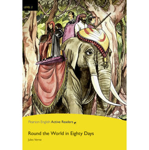PEAR | Level 2: Round The World In Eighty Days Bk/Multi-ROM with MP3 Pack - Jules Verne
