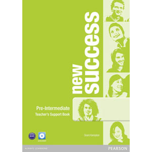 New Success Pre-Intermediate Teacher´s Book w/ DVD-ROM Pack - Teachers Book Pack - Grant Kempton