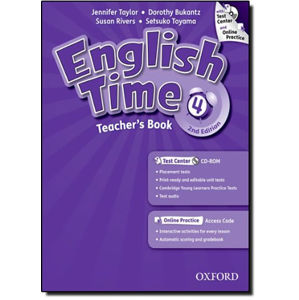 English Time 4 Teacher´s Book + Test Center CD-ROM and Online Practice Pack (2nd)