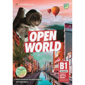 Open World Preliminary Self Study Pack (SB w Answers w Online Practice and WB w Answers w Audio Download and Class Audio)