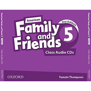 Family and Friends American English 5 Class Audio CDs /3/ (2nd)