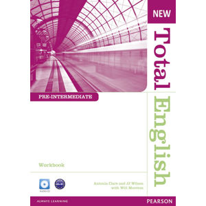 New Total English Pre-Intermediate Workbook w/ Audio CD Pack (no key) - Workbook without Key Pack - Will Moreton