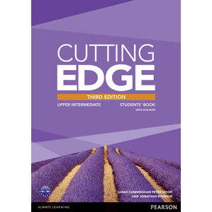 Cutting Edge 3rd Edition Upper Intermediate Students´ Book w/ DVD & MyEnglishLab Pack - Jonathan Bygrave