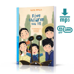 Young ELI Readers 3/A1.1: Five Children and It + Downloadable Multimedia