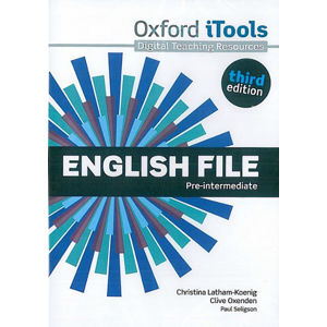English File Pre-intermediate iTools DVD-ROM (3rd) - Christina Latham-Koenig, Clive Oxenden, Paul Selingson