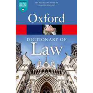 Oxford Dictionary of Law, 9th Edition