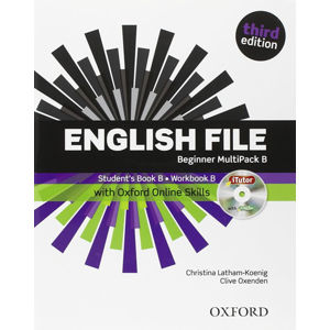 English File Beginner Multipack B with iTutor DVD-ROM and Oxford Online Skills (3rd)