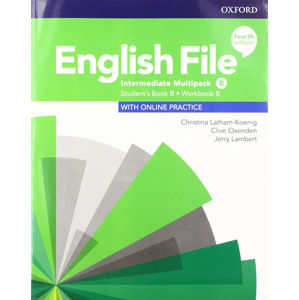 English File Intermediate Multipack B with Student Resource Centre Pack (4th)